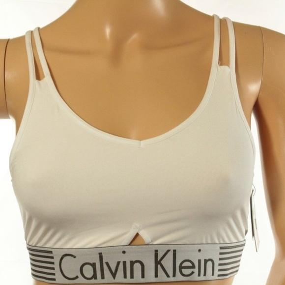 a2550c93b6 CALVIN KLEIN Women s Bralette Sports Bra